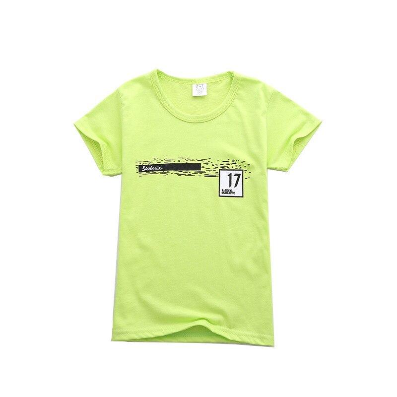 Kids Baby Boys Girls T-shirt Toddler Short Sleeve Cotton Tops Shirt Children Unisex Spring Autumn Clothes Little Girls Clothing