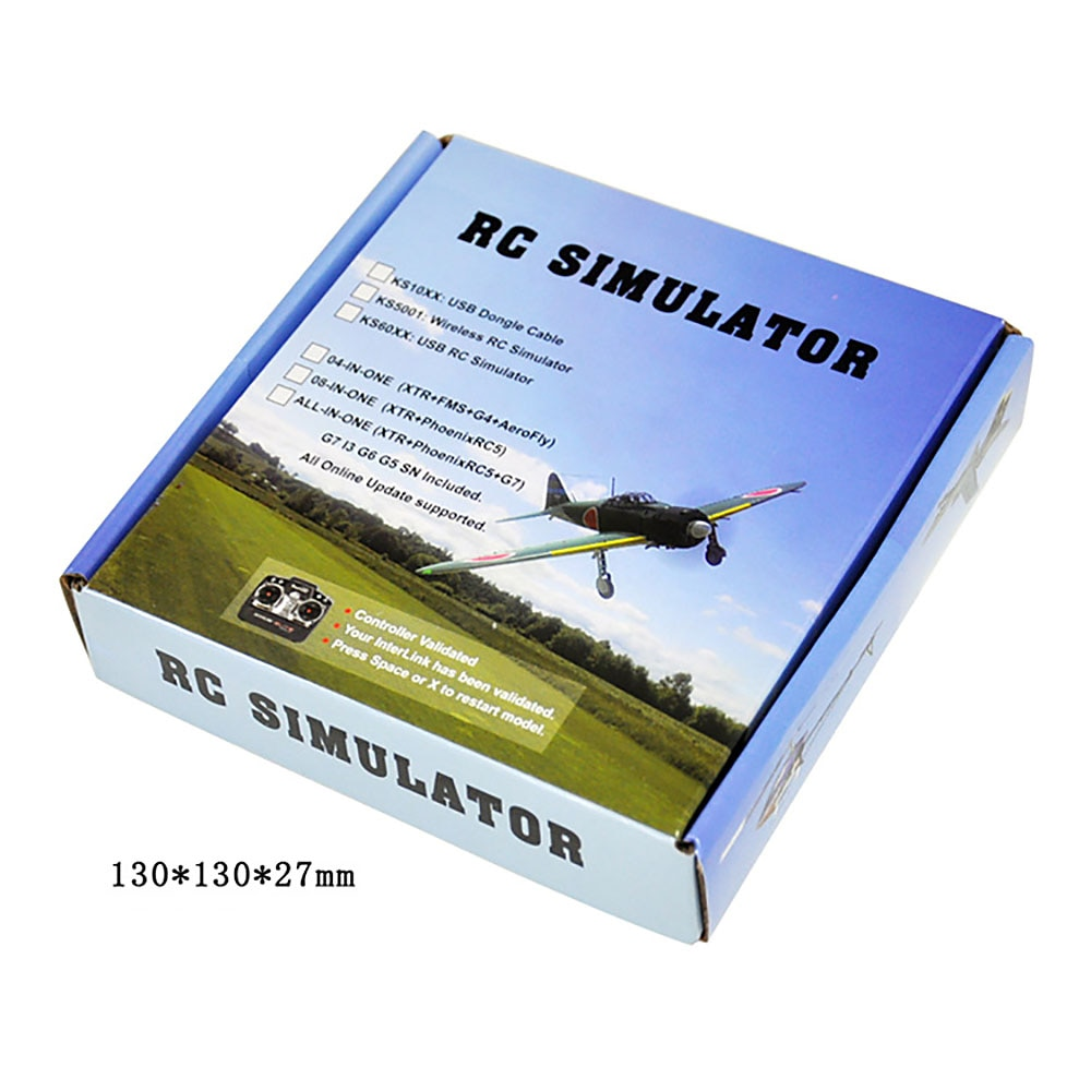 New All 20in1 Flight Simulator Cable/USB Dongle for RC Helicopter Aeroplane Car enlarge