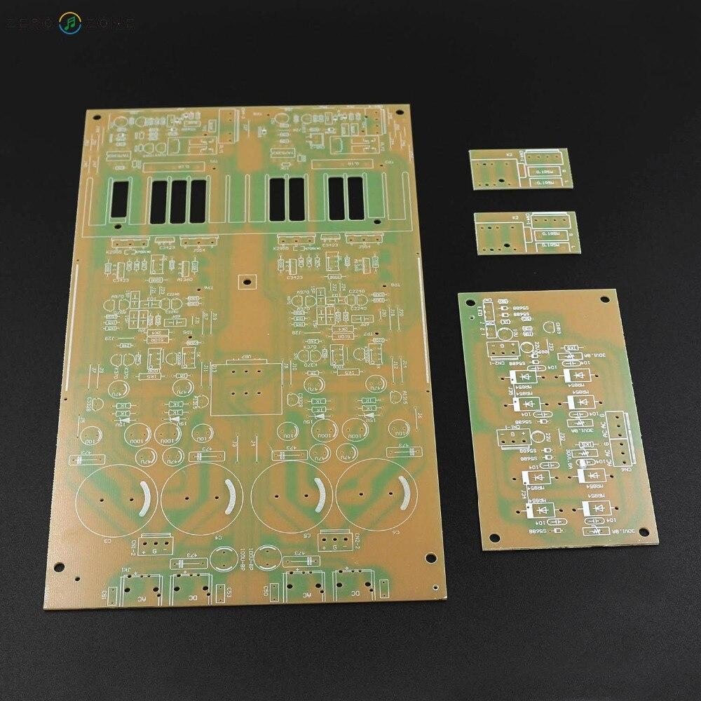 GZLOZONE Clone Technica HA5000 Headphone Amplifier Bare PCB / Power Supply PCB