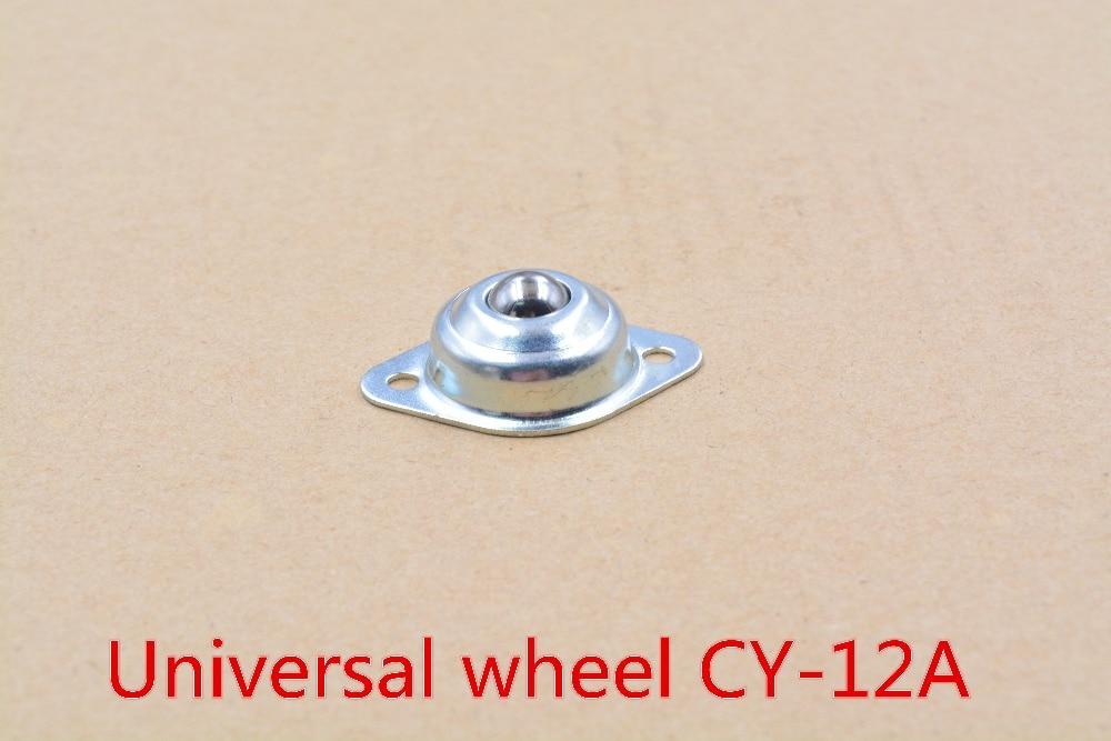 Ruedas inteligentes de 12mm con rodamiento de CY-12A para coche, bola redonda de acero maverick eye, rueda universal omni 1 Uds.