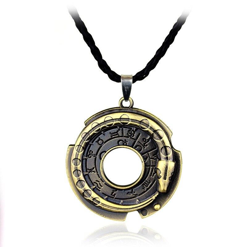 Эцио из асассинс Creed кулон ожерелье для косплея ожерелье из сплава Connor Амулет ожерелье для поклонников мужчин и женщин