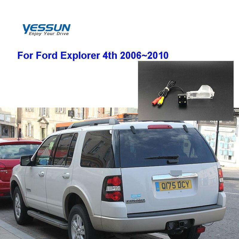 Yessun  Car Rear View Reverse Backup Camera Waterproof For Ford Explorer 4th 2006~2010 reversing camera/car license plate camera