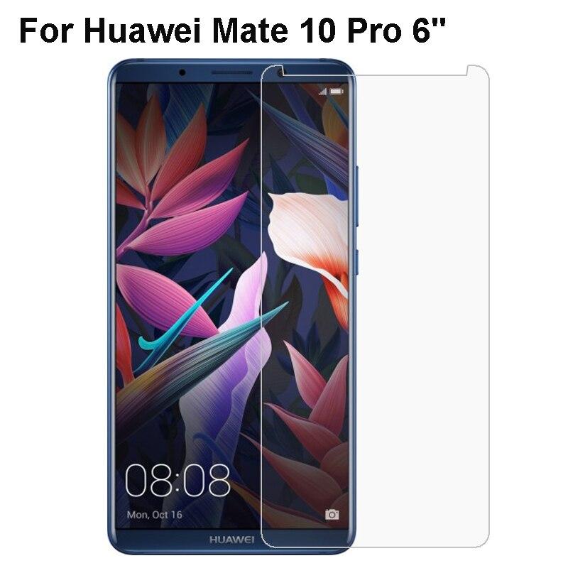 """Huawei Mate 10 Pro de vidrio templado Premium Huawei Mate 10 Pro Protector de pantalla película protectora templado BLA-L09 BLA-L29 de vidrio 6"""""""