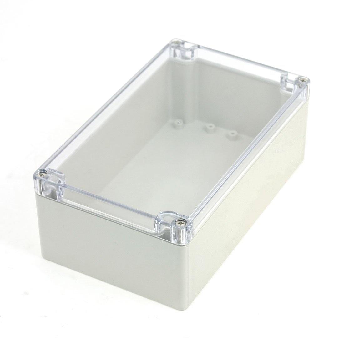 Nueva caja de conexiones de potencia sellada a prueba de agua 200mm x 120mm x 75mm w funda transparente