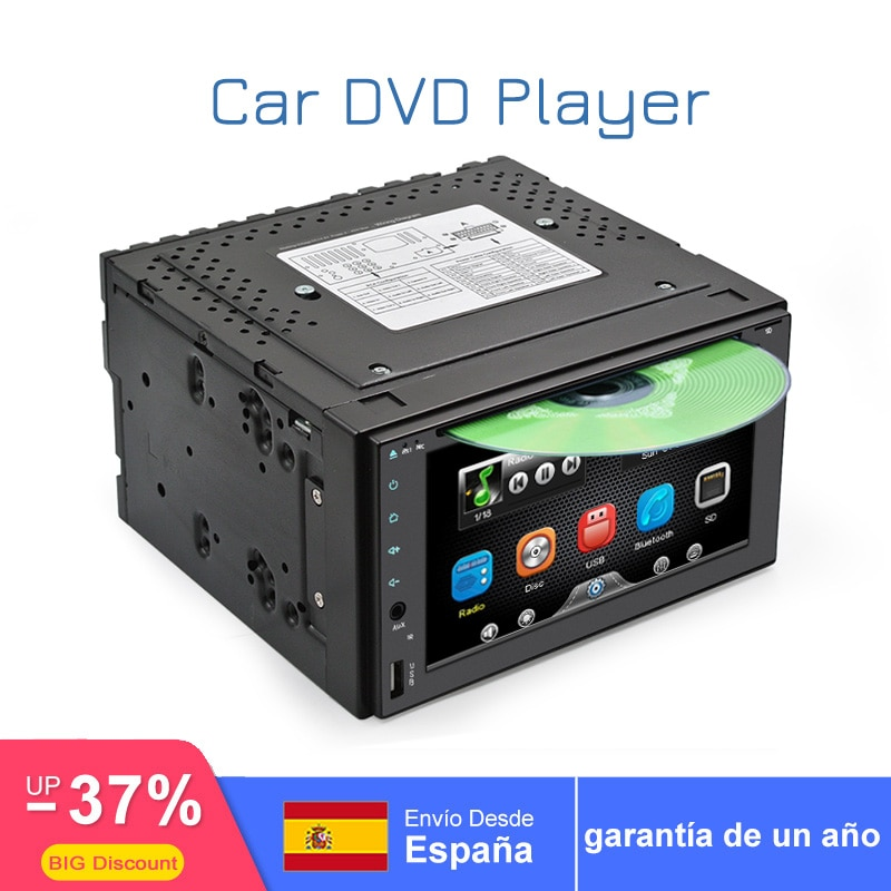 """Universal de 6,2 """"coche DVD Radio 2din para X-TRAIL Qashqai x rastro para nissan juke enlace espejo SWC remotecontrol 1080P decodificación de vídeo"""