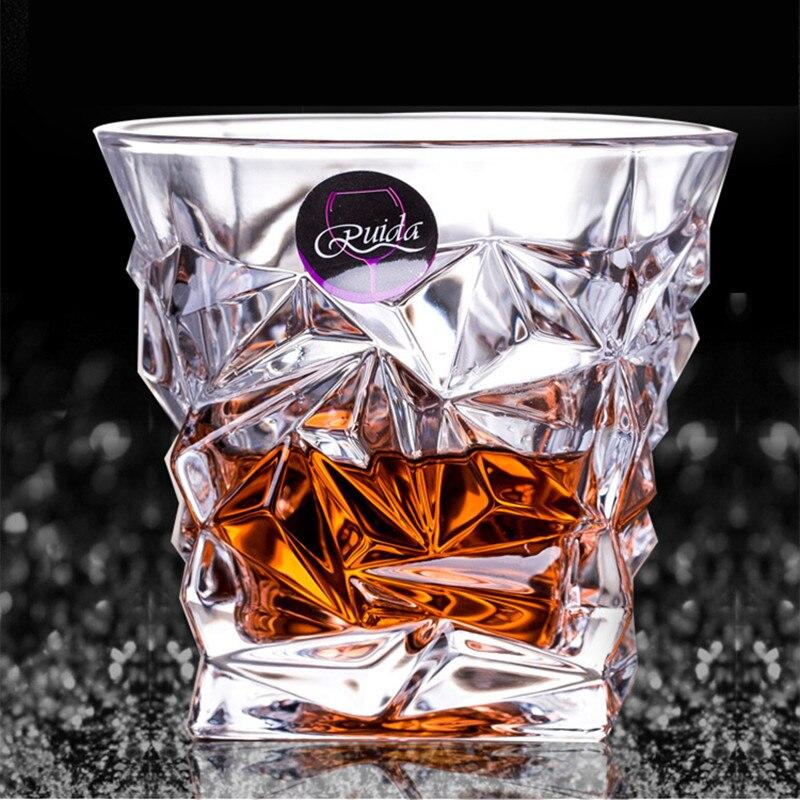 Брендовое стекло для вина, не содержит свинца, Термостойкое прозрачное Хрустальное пиво, виски, коньяк, водка, чашка, Мульти Узор, посуда для напитков, бар, подарки