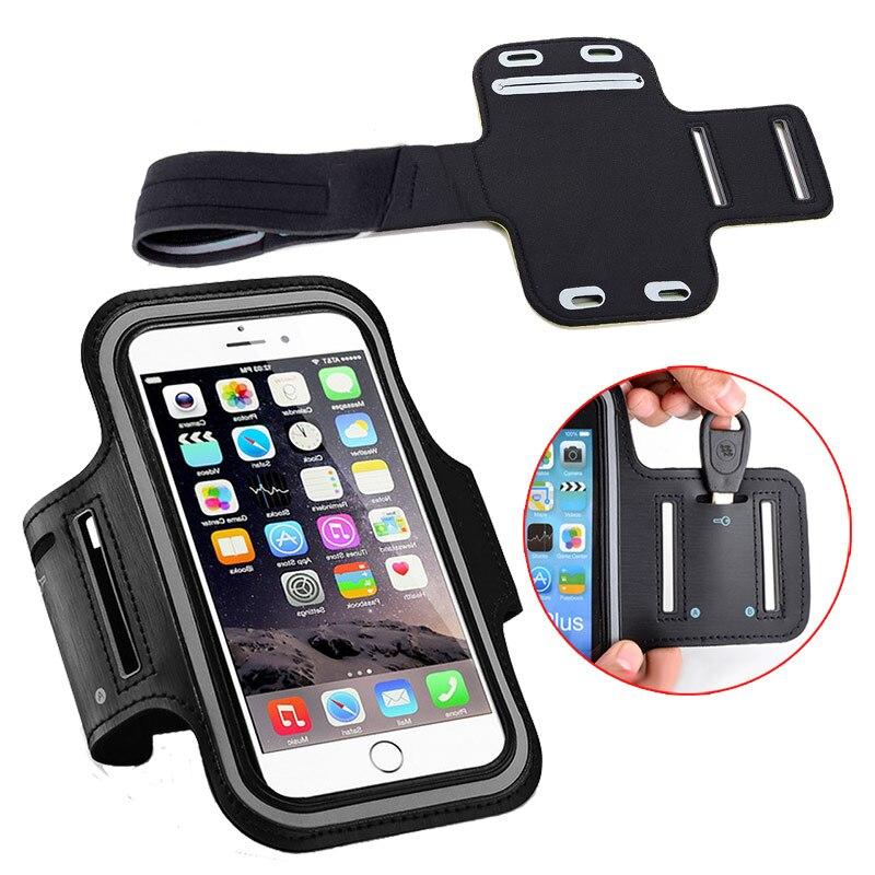 Fundas de teléfono de 5,5 pulgadas 8 plus para el iPhone 7 plus 6s plus 6 plus funda de cinturón deportivo funda de bolsa de gimnasio para correr