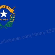 Nevada Flag 3 x 5 FT 90 x 150 cm USA States Flags Banners