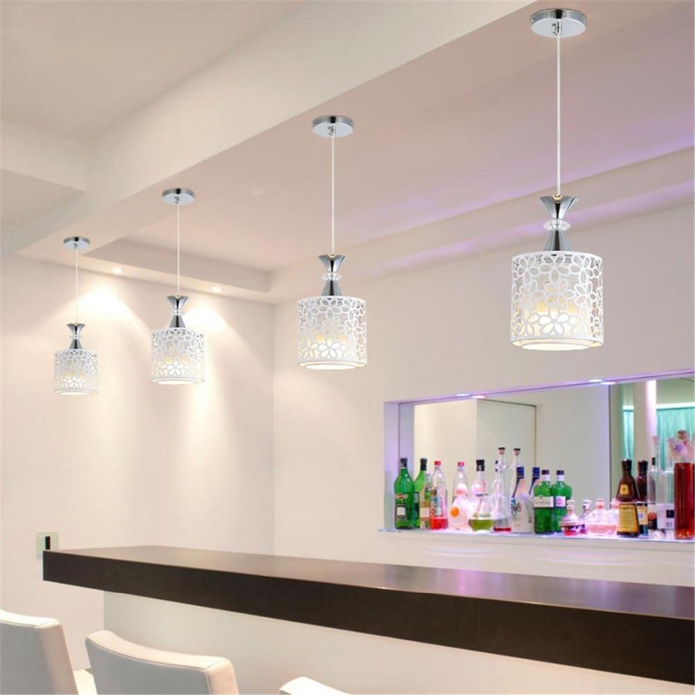 1PCS Set of pendant light modern crystal iron ceiling lights chandelier dining room pendant lamp decoration