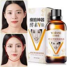 30ml Face-lifting Essentiële Oliën Verwijderen Dubbele Kin V-Vormige Gezicht Massage Olie Verstevigende Huid