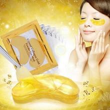 24K Gold Masks Crystal Collagen Eye Mask Anti-Aging Dark Circles Gel Beauty Pads Patches for Eye Skin Care Korean Cosmetics