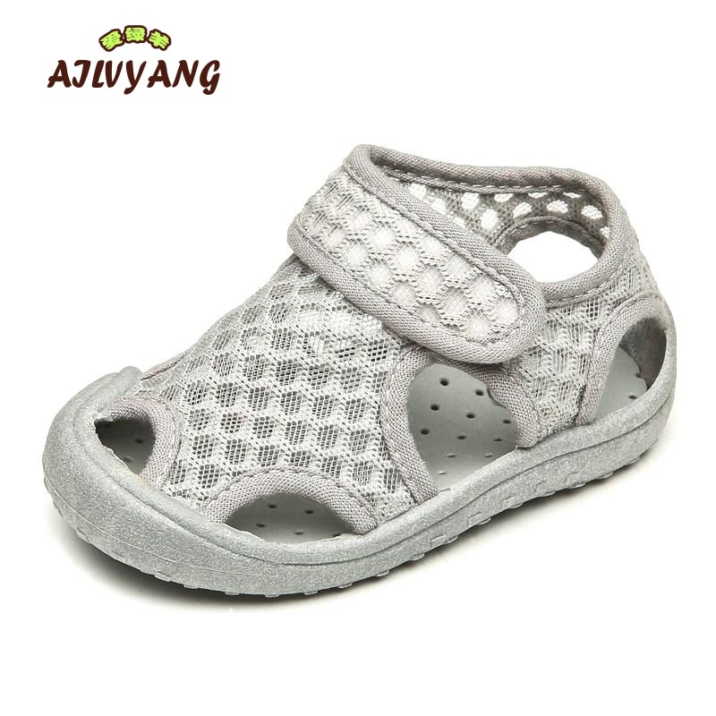 AILVYANG Brand Baby Boys Girl Summer Mesh Sandals Shoes Children Breathable Beach Shoe Toddlers Casu