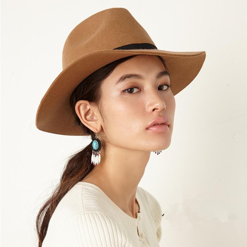 Шляпа из фетра для путешествий в японском стиле шляпа ретро мужчин и женщин