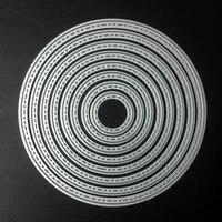 scd479 12cm circles metal cutting dies for scrapbooking stencils diy album cards decoration embossing folder die cuts template