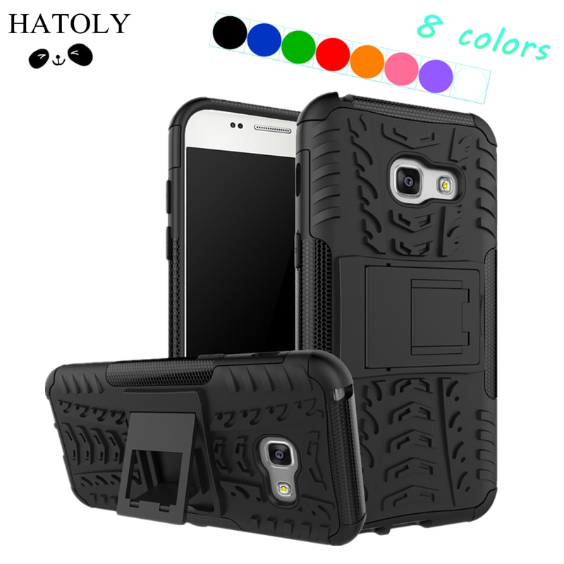 For Cover Samsung Galaxy A3 2017 Case A320F Armor Silicone Case For Samsung A3 2017 Case for Samsung Galaxy A3 2017 Phone Bag ]