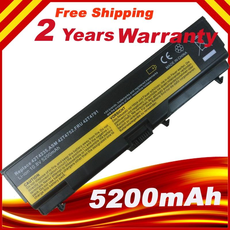Bateria do portátil Para Lenovo ThinkPad L421 L510 L512 L520 SL410 SL510 T410 T410i T420 T510 T510i T520 T520i W510 W520