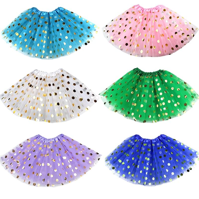 3 слоя розового золота в горошек юбка пачка для малышей Юбка детская юбка Sparkle детская одежда; Платье принцессы для девочек; Детская юбка американка на день рождения вечерние юбки|Юбки| | АлиЭкспресс