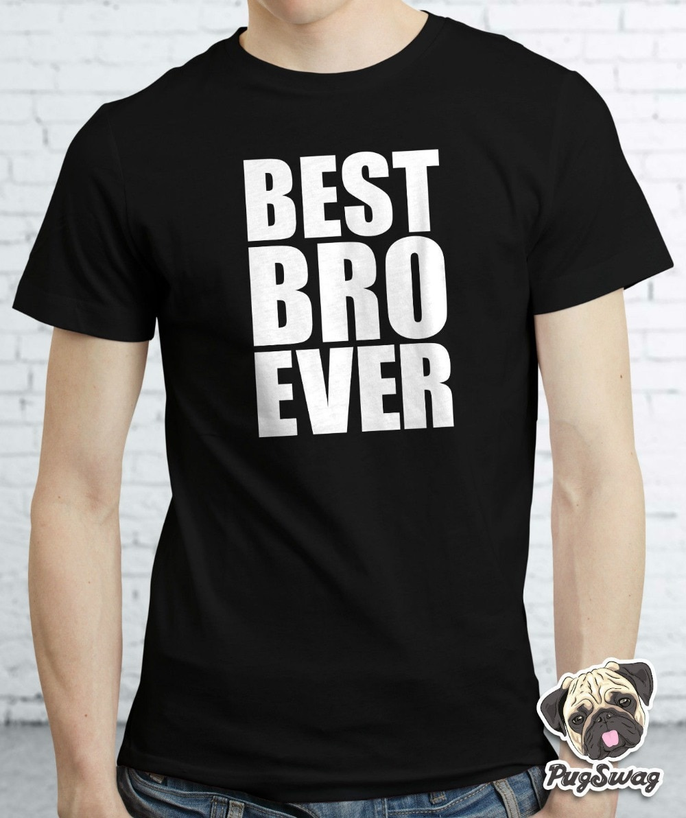 Melhor irmão irmão sempre novo camiseta camiseta grande presente pequeno engraçado legal camiseta camisa unisex mais tamanho e Color-A433