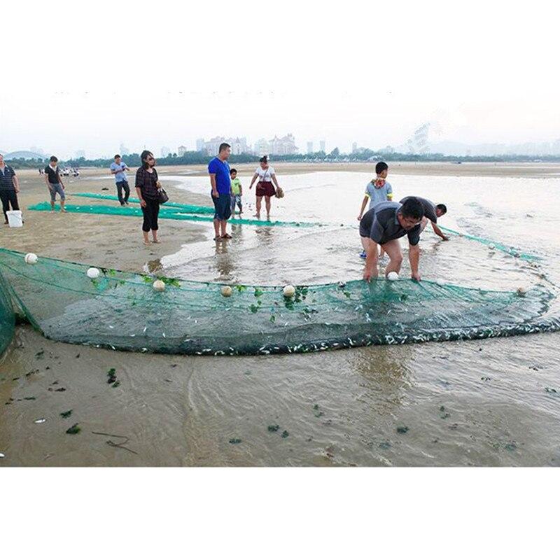 strong nylon net depth 2m Length 20m-25m mesh 20mm-25mm traw net fishing net red pesca fishing network fishing tool  Barrage net enlarge