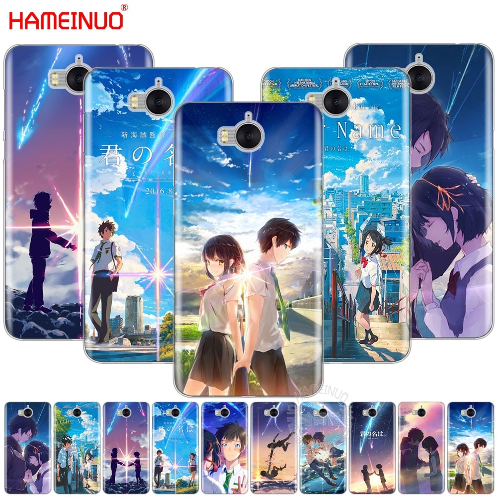 HAMEINUO Ihren Namen Anime Coque handy Abdeckung Fall für huawei ehre 3C 4X 4C 5C 5X6 7 Y3 Y6 Y5 2 II Y560 Y7 2017