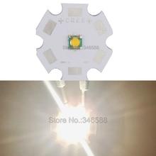 10pcs Cree Single-die XPG XP-G Warm White 3000-3200K 5W High Power LED Emitter Diode on 8mm /12mm / 14mm / 16mm / 20mm PCB