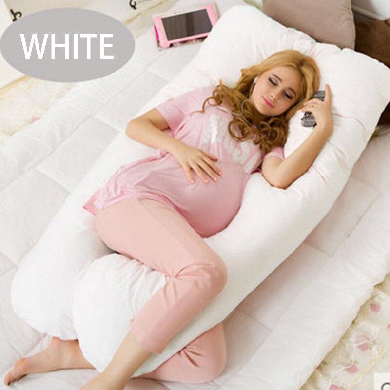 130*70CM U embarazo cómodas almohadas cinturón de maternidad carácter corporal almohada de embarazo embarazadas