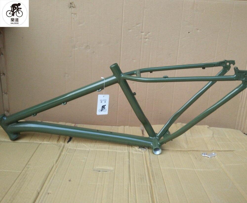 Kalosse  DIY colors   Hot selling   Snow bike frame 4.0 tires   Fat bike  frame  26*4.0  Fat  bicycle frame