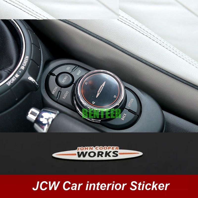 Pegatina de coche para Mini JCW Mini Cooper S One John Cooper,...