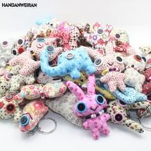 1PIECE kawaii cartoon plush dolls toys stuffed  Key Pendant Wedding Gifts Children  Rewards FOR KIDS mini