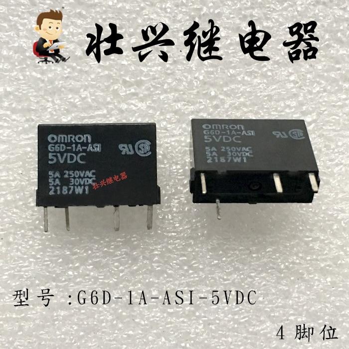 Relay  G6D-1A-ASI-5VDC 5A 4PIN DC24V