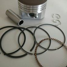 Engine 56 x 40mm Piston Pin Sealing Ring Set for Engine Piston Set Silver Tone