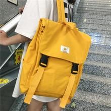 Wasserdicht Rucksack Frauen Leinwand Schule Taschen Reisetasche für Teenager Mädchen Bagpack Rucksack Damen Sac A Dos Mochila Mujer 2019