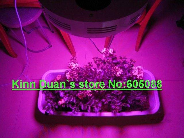 90w conduziu a lâmpada da planta cresce a luz led ufo 45x2w igual a 400-500w MH/HPS AC100-265v CE & ROHS 4 pçs/lote promoção DHL frete grátis