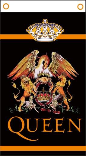 Bandera reina banda banner de 3x5 Ft x 90x150 cm 100% poliéster 01