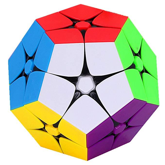 CuberSpeed 2x2 Megamin липкий магический куб Kilominx 2x2 цветной скоростной куб