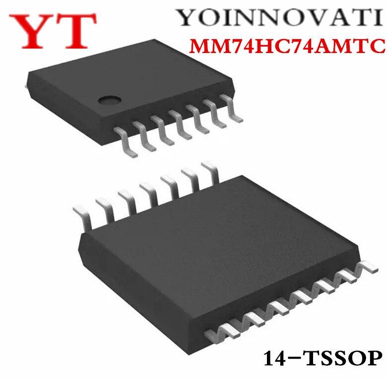 Frete grátis 30 PCS MM74HC74AMTC D 14-TSSOP MM74HC74AM 74HC MM74HC74 74HC7 MM74HC 74HC74 Melhor qualidade
