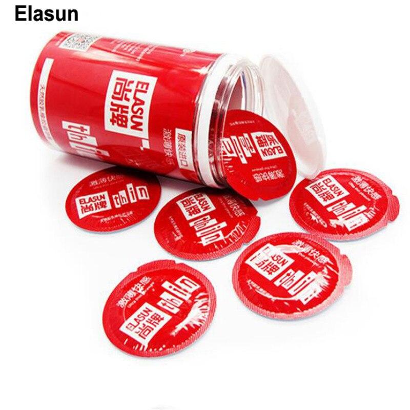 Condones Elasun 20 piezas para hombres, retardante de eyaculación, amor intenso, condón, caucho de látex Natural, lubricación ultrafina para hombre
