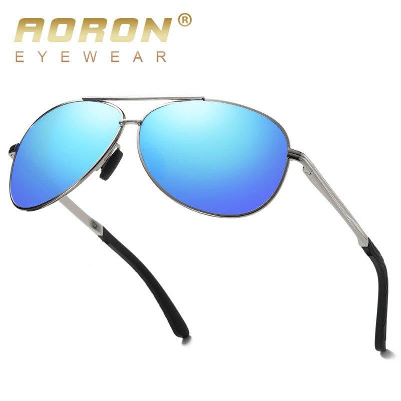 AORON, солнцезащитные очки, мужские, поляризационные, зеркальные, okulary Gafas, высокое качество, новинка, мужские солнцезащитные очки, для улицы, для вождения, очки UV400 S4