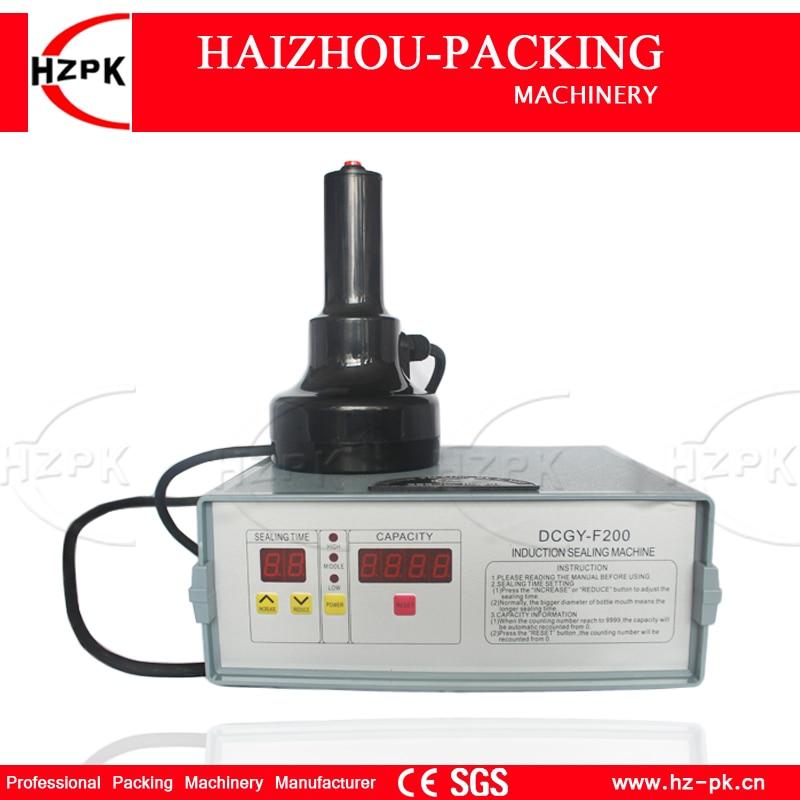 HZPK Hand-held Glass Plastic Bottle Aluminium Foil Continuous Induction Sealing machine For Medical Cap Sealer Packing Machine