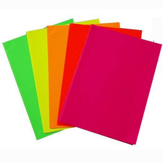 100 PCS/LOT.5 cor A4 papel adesivo adesivos, etiqueta Personalizada, etiqueta de papel Colorido, acessórios Feitos À Mão, atacado. Freeshipping