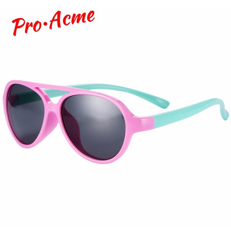Pro Acme TR90 Flexible Kids Sunglasses Polarized Baby Boy Girls  Sun Glasses Child Sunglass Infant Shades UV400 CC0607