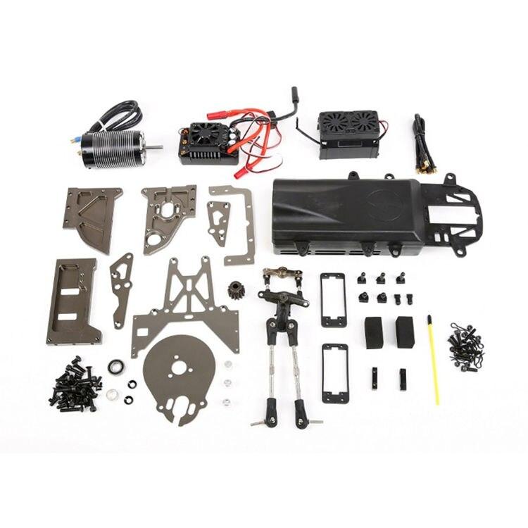 KIT de conversión de Metal eléctrico a Gas para 1/5 RV KM BAJA 5B 5T 5SC e-baja RC piezas de coche