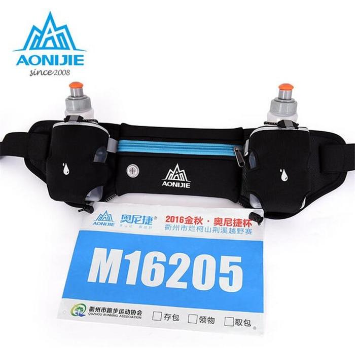 AONIJIE Mobile Phone Water Bottle Belt Lightweight Running bag Outdoor Travel Running Sport Waist Pack Men Women
