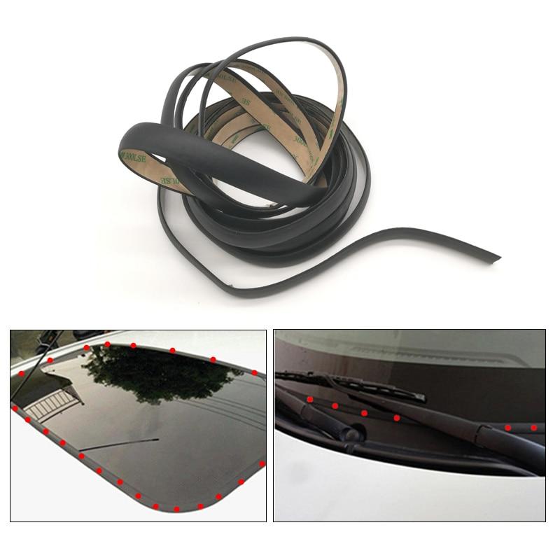 5 метров автомобильный оконный герметик резиновое уплотнитель лобового стекла для авто переднего и заднего лобового стекла треугольное ок...