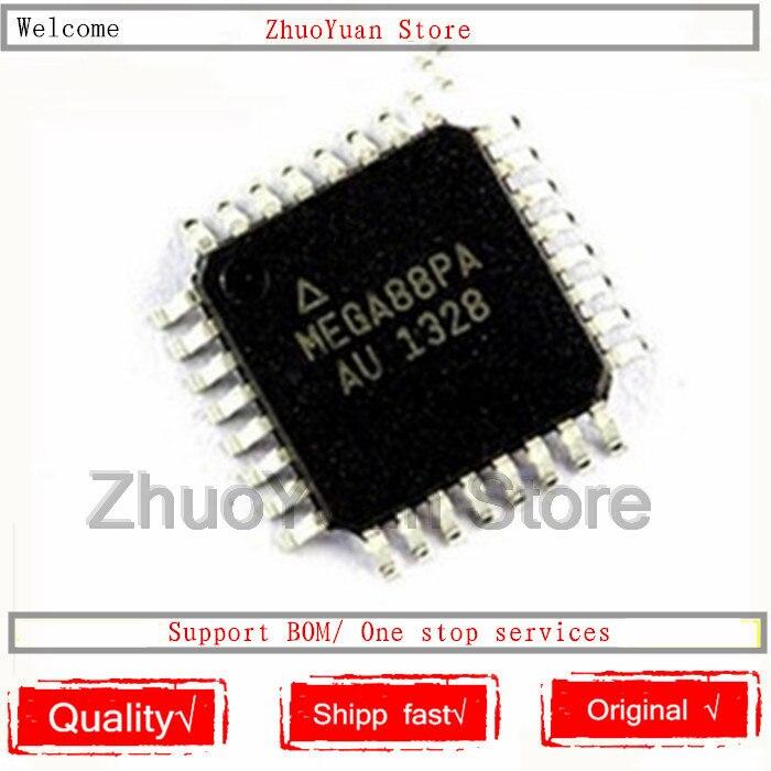 100 PCS/lot ATMEGA88PA-AU ATMEGA88PA ATMEGA88 QFP32 IC puce nouveau Original en stock