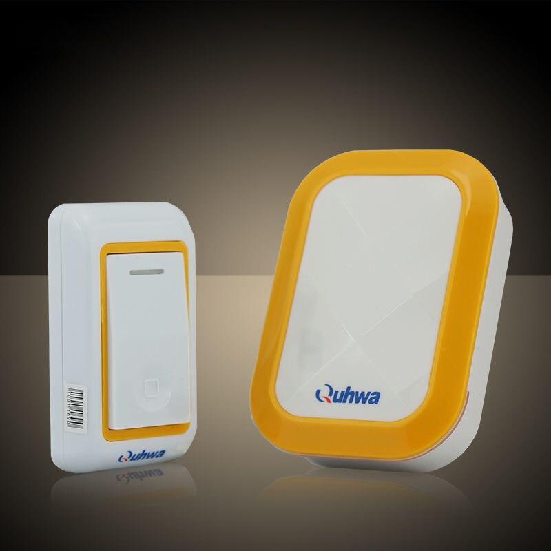 Timbre de puerta Digital inalámbrico de 36 tonos, timbre, timbre, volumen ajustable, resistente al agua
