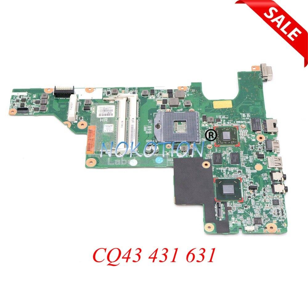 646672-001 Tablero Principal para hp CQ43 431 631 portátil placa base HM65 DDR3 HD 7400M probada completa