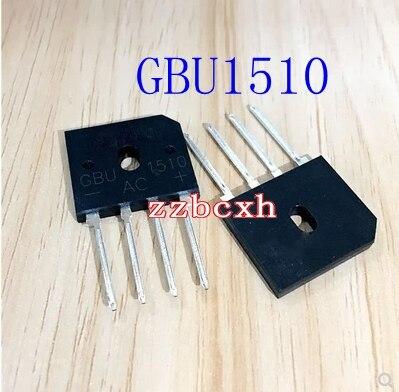 Envío Gratis 5 unids/lote nuevo original GBU1510 15A 100 V