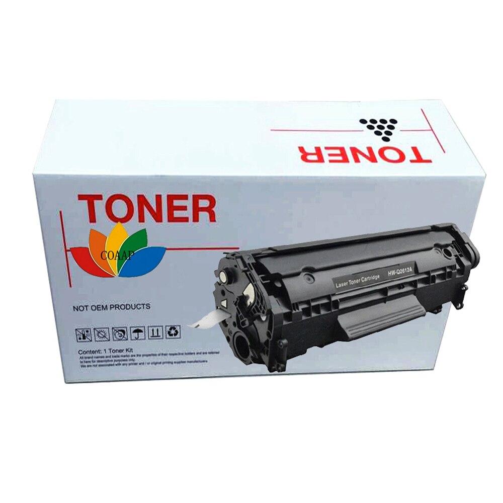 Uyumlu hp Q2612A 12a toner hp için kartuş LaserJet 1010 1012 1015 1018 1020 1022 3010 3015 3020 3030 3050 3052