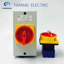 Lot de 440v avec commutateur de commutation à came rotative   Boîte, interrupteur isolant manuel, système de climatisation et système de pompe